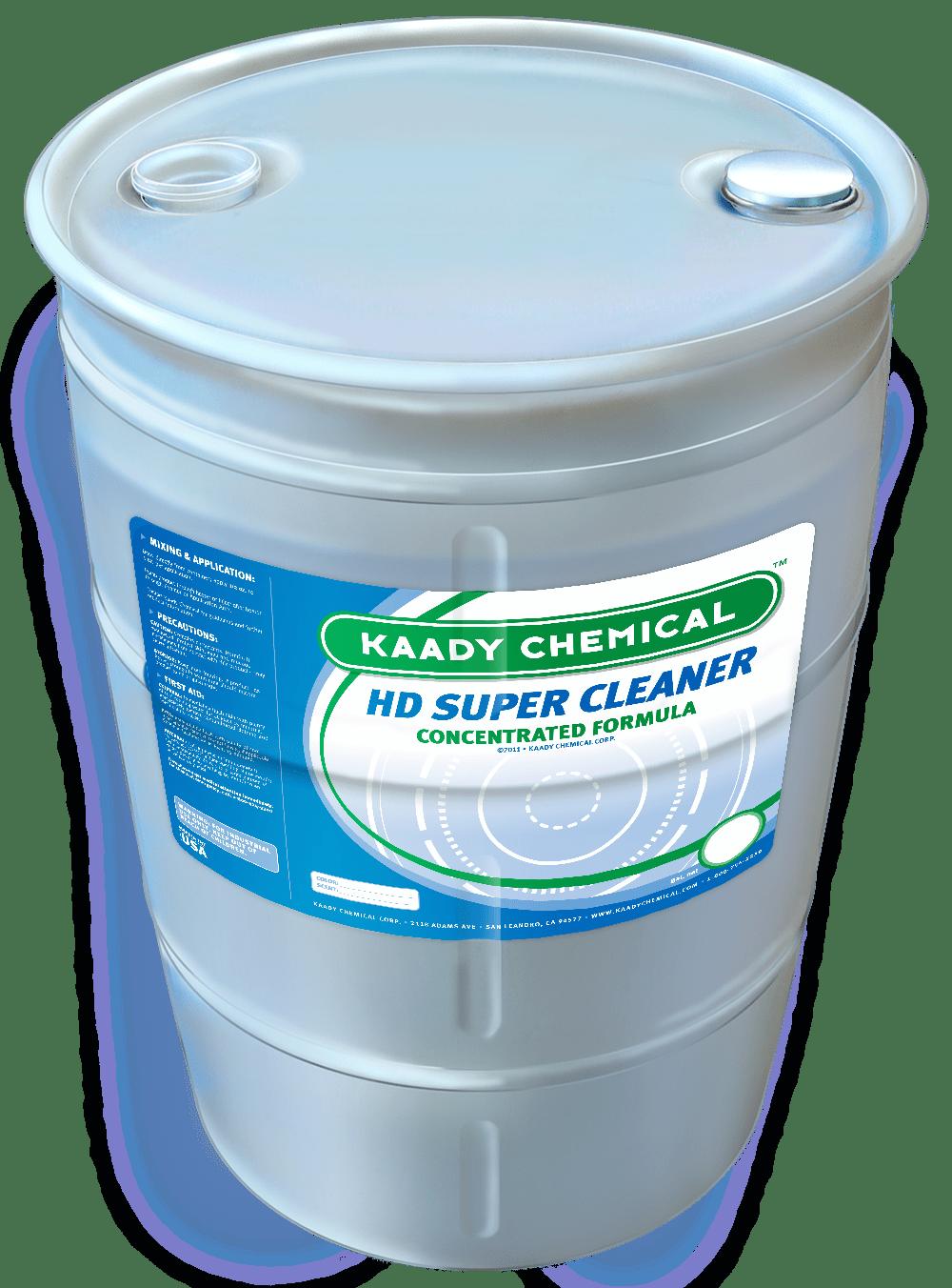 hd super cleaner barrel